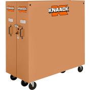 Knaack 100 Jobmaster® Rolling Cabinet, 60.9 Cu. Ft., Steel, Tan