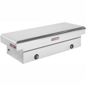 Weather Guard Saddle Truck Box, Aluminum Full Extra Wide 15.3 Cu. Ft. - 117-0-02
