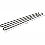 Weather Guard Service Body Rack, Black Steel Full Size - 1225