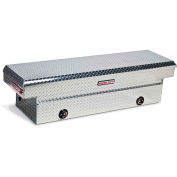 Weather Guard Saddle Truck Box, Aluminum Full Standard 11.3 Cu. Ft. - 127-0-02