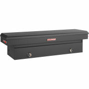 Weather Guard Saddle Truck Box, Matte Black Aluminum Full Standard 11.3 Cu. Ft. - 127-52-02