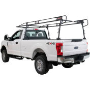 Weather Guard Ladder Rack System, Black Steel Full Long Bed Size - 1275