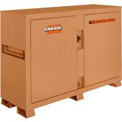 Knaack 129 Jobmaster® Bin Storage Cabinet, 48 Cu. Ft., Steel, Tan