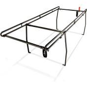 Weather Guard Ladder Rack System, Black Steel Compact Short Bed Size - 1345