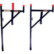 Weather Guard WEEKENDER® Ladder Rack, Black Steel Horizontal - 1450