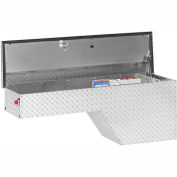 Weather Guard Pork Chop Truck Box, Aluminum Driver Side Full Size 3.4 Cu. Ft. Cap. - 172-0-01