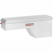 Weather Guard Pork Chop Truck Box, Aluminum Passenger Side Full Size 3.4 Cu. Ft. Cap. - 173-0-01
