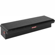 Weather Guard Lo-Side Truck Box, Black Aluminum Standard 4.3 Cu. Ft. Capacity - 179-5-01