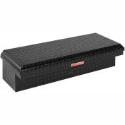 Weather Guard Lo-Side Truck Box, Black Aluminum Low Profile Driver Side Short 3.2 Cu. Ft. 180-5-01