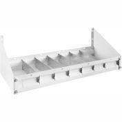 "Weather Guard Accessory Parts Cabinet Tray 24""L x 9-1/2""W x 3-1/2""H, Steel White - 202-3"