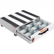 "Weather Guard PACK RAT® 3 Compartment Drawer Unit White, 24""L x 30""W x 9""H - 312-3"