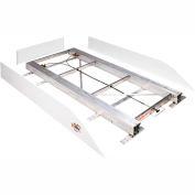 "Weather Guard BED RAT® Sliding Platform White, 68""L x 44-3/4""W x 4-3/4""H - 3200"