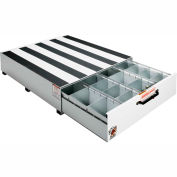 "Weather Guard PACK RAT® 4 Compartment Drawer Unit White, 48""L x 39-3/4""W x 12-1/2""H - 338-3"