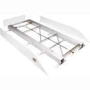"Weather Guard BED RAT® Sliding Platform White, 90""L x 44-3/4""W x 4-3/4""H - 3400"
