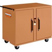 Knaack 44 Jobmaster® Rolling Work Bench, 800 Lbs, Steel, Tan
