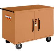 Knaack 45 Storagemaster® Rolling Work Bench, 1,000 Lbs, Steel, Tan