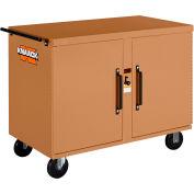 Knaack 47 Storagemaster® Rolling Work Bench, 1,000 Lbs, Steel, Tan