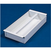 "Weather Guard Accessory Divider Tray 18-1/2""L x 9""W x 3""H, Steel White - 619-3"