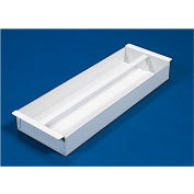 "Weather Guard Accessory Divider Tray 25-1/2""L x 9""W x 3""H, Steel White - 620-3"