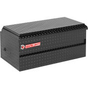 Weather Guard All-Purpose Truck Chest Black Aluminum, Compact Size 6.0 Cu. Ft. Capacity - 644-5-01