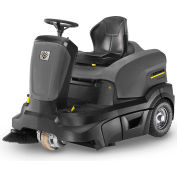 "Karcher Ride-On Floor Sweeper, 36"" Cleaning Path, KM 90/60 R Bp Adv, 1SB, 2x12V/234 Ah AGM Batteries"