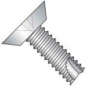 4-40X1/4 Phillips Flat Undercut Thread Cutting Type 23 Fully Thrd 18 8 SS,5000 pcs