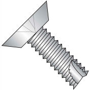 4-40X3/8 Phillips Flat Undercut Thread Cutting Type 23 Fully Thrd 18 8 SS,5000 pcs