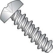 4X3/8 #3HD  Phillips Pan High Low Screw Fully Threaded 18 8 Stainless Steel, Pkg of 10000