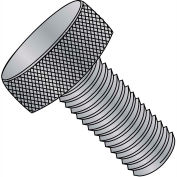"#4-40 x 1/2"" Knurled Thumb Screw - FT - Aluminum - Pkg of 100"