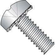 4-40X5/8  Phillips Pan External Sems Machine Screw Full Thrd 18 8 Stainless Steel, Pkg of 5000