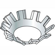 #4 External Tooth Countersunk Lock Washer - Zinc - Pkg of 10000