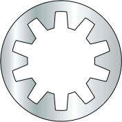 #4 Internal Tooth Lock Washer - Zinc - Pkg of 10000