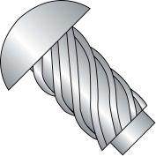 6X1/4  Round Head Type U Drive Screw 18 8 Stainless Steel, Pkg of 10000
