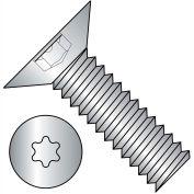 6-32X5/16  6 Lobe Flat 100 Degree Machine Screw Fully Threaded 18 8 Stainless Steel, Pkg of 5000