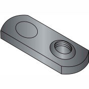 6-32  One Projection Tab Weld Nut Plain Single, Pkg of 1000