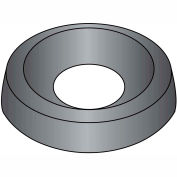 #6  Countersunk Finishing Washer Black Zinc, Pkg of 10000