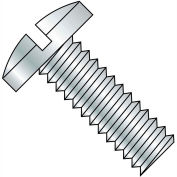 8-32X1/4  Slotted Binding Undercut Machine Screw Fully Threaded Zinc, Pkg of 10000