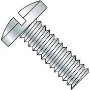 8-32X1/4  Slotted Binding Undercut Machine Screw Fully Threaded Zinc, Pkg of 10000