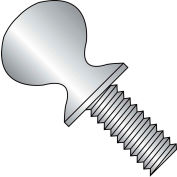 8-32X3/8  Thumb Screw With Shoulder F/T 18-8 Stainless Steel, Pkg of 3000