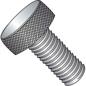 8-32X7/16  Knurled Thumb Screw Full Thread 18 8 Stainless Steel, Pkg of 100
