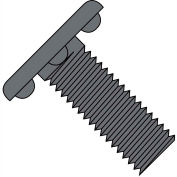 Made In USA 8-32X1/2  Weld Screw With Nibs Under The Head Fully Threaded Plain, Pkg of 5000