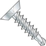 #8 x 5/8 Phillips Flat Undercut Full Thread Self Drilling Screw Zinc Bake - Pkg of 10000