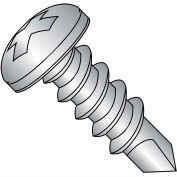 #8 x 3/4 Phillips Pan Full Thread Self Drilling Screw 410 Stainless Steel - Pkg of 5000