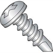 #8 x 3/4 Phillips Pan Full Thread Self Drilling Screw 410 Stainless Steel - Pkg of 5000