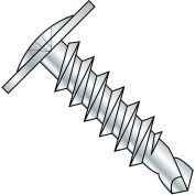#8 x 1-1/2 Phillips Modified Truss Head Self Drilling Scew Full Thread Zinc Bake - Pkg of 2000