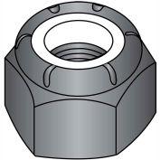 8-32  Nylon Insert Hex Lock Nut Black Oxide, Pkg of 2000