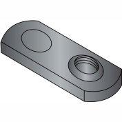 8-32  One Projection Tab Weld Nut Plain Single, Pkg of 1000