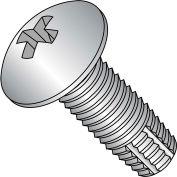 10-24X1/2  Phill Full Contour Truss Thread Cutting Screw Type F Full Thrd 18 8 S/steel, Pkg of 4500