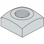 1-8  Regular Square Nut Hot Dipped Galvanized, Pkg of 50