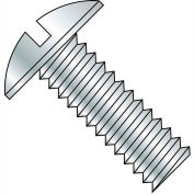 10-24X5/8  Slotted Truss Machine Screw Fully Threaded Zinc, Pkg of 6000